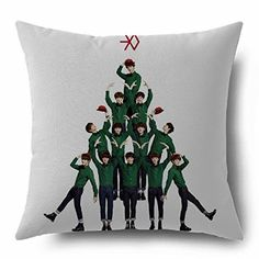 Amazon.com: KPOP EXO Custom Throw Pillow Two-sided Pillow Bolster Hot Sale (Miracles in December): Arts, Crafts & Sewing