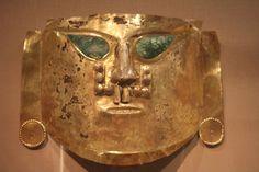 Gold Ceremonial Mask, La Leche Valley, A.D. 900-1100