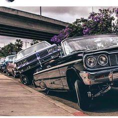 If you wanna be mean, you gotta lean. Chevrolet Impala, Impala Car, Retro Cars, Vintage Cars, Arte Lowrider, Lowrider Trucks, Arte Do Hip Hop, Arte Cholo, Estilo Cholo