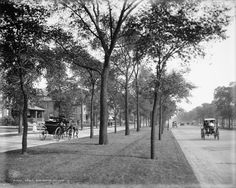 Grand Boulevard (now Martin Luther King, Jr. Drive) in 1907.