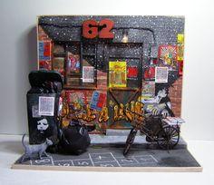 "Handmade miniature scene 1:12 scale ""Indignation"" Pequeñeces by MaraGVerdugo"
