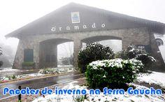 Inverno 2016 na Serra Gaúcha - Pacotes em promoção #pacotes #inverno #promoção #viagem #serragaucha