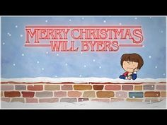 """""""A Stranger Things Christmas"""" (or """"Merry Christmas Will Byers"""") is a mashup of Stranger Things and the classic Peanuts Christmas special A Charlie Brown Peanuts Christmas, Charlie Brown Christmas, Merry Christmas, Stranger Things Christmas, Watch Stranger Things, Will Byers, Perfect Strangers, Por Tv, Shake It Off"""