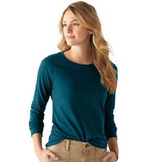 Women's SONOMA Goods for Life Essential Slubbed Crewneck Tee