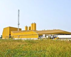 iksoi design studio's yellow factory makes bold statement in rural india Industrial Development, Rural India, Factory Design, Grand Designs, Design Blog, Architect Design, Design Reference, Retail Design, Wind Turbine