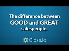 What separates good sales people from great sales people? #sales #motivation #quote #entrepreneurship #entrepreneur #hustle #business #startups #b2b #SaaS #Steli #Close_io Sales People, Motivation, Entrepreneurship, Hustle, Things To Think About, My Life, Success, Advice, Business