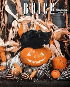 Vintage Halloween Magazine ~ Buick Magazine ©October, 1954