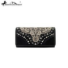 Montana West Embroidered Collection Wallet (MW208-W002)