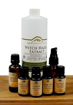 Make Your Own Natural Cleaners ~ Citrus Shine Aroma Spritz & Multipurpose Cleaner