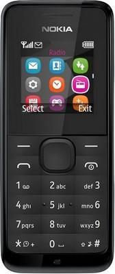 Nokia 105 Dual Sim черный  — 1490 руб. —