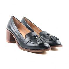 Cai CL6614 Black Shoes
