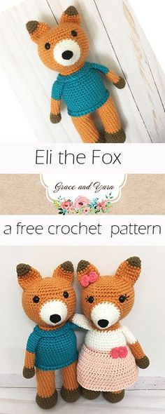 A free amigurumi fox pattern and photo tutorial!