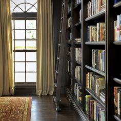 Floor To Ceiling Bookcase Design,