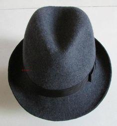 9bad780f086 Men s 100% Wool Fedoras Hat Female Derby Felt Hats Woolen Cap Male Fashion Bowler  Hat Woolen Fedora Cap New Feather Hat B-8125