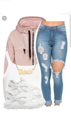 Nike Outfits – Page 1024602089 – Lady Dress Designs Lit Outfits, Cute Swag Outfits, Teen Fashion Outfits, Dope Outfits, Outfits For Teens, Trendy Outfits, Fall Outfits, Summer Outfits, Nike Shoes Outfits