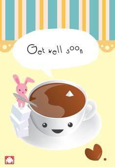 """""""Get well soon."""" said the tea cup. ---- ---- ---- ---- This was fun to make and was interesting to try. The sugar cube idea came from L from Death Note when he stacks and eats them. Made me think o. Death Note L, Devian Art, Get Well Soon, Pattern Art, Food Pictures, Cube, Tea Cups, Clip Art, Wellness"""