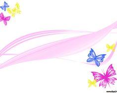 Mariposas Coloridas Powerpoint con mariposas multicolores