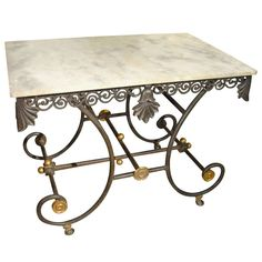 Early 1900 S French Pastry Table