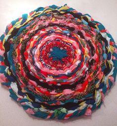 Hula hoop weaving