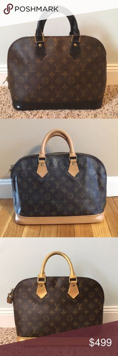 Custom LV ALMA PM Authentic Louis Vuitton Alma handbag that has been refurbished. Pick your color; black, brown, light tan, hot pink, baby pink, teal, and other colors upon request (but those are the most popular!) please check my sold listings for more options and details. Thanks! Louis Vuitton Bags Satchels