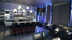 The bar at Windsor Arms Hotel