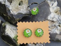 Set Ring & Ohrringe mit richtigen Stecker ! von Sonja Sonnenschein auf DaWanda.com