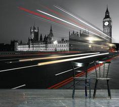 Papier peint Big Ben 113x85