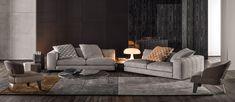 Canapé FREEMAN SEATING SYSTEM by Minotti design Rodolfo Dordoni