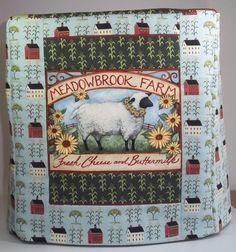 Kitchenaid Mixer Cover  Sheep Farm by PatsysPatchwork on Etsy, $35.00