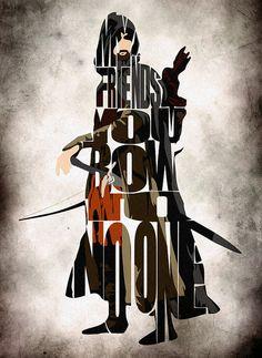 Aragorn Print Viggo Mortensen as Aragorn from The by GeekMyWalL, $25.00