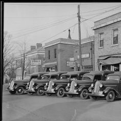 men standing with trucks outside of building, - Kentucky Digital Library 1937 (bit of the old Maxwell here also) Good Ole, Candies, Kentucky, Woodland, The Neighbourhood, Nostalgia, Old Things, Trucks, Park