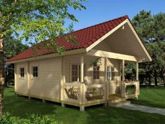 Timberline Log Cabin Kits - ranging from $2,930 to $31,800