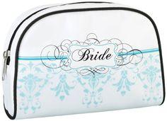 Lillian Rose Bride Travel Bag, 7.25-Inch by 4.75-Inch, Aq... https://www.amazon.com/dp/B009SRL2ZI/ref=cm_sw_r_pi_dp_-YnMxbWNN6BCV