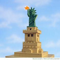 Lego NY Lady Liberty | Flickr - Photo Sharing!