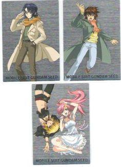 Gundam Seed Card Set of 93 official Japan ,Kira Yamato , Athrun Zala , Lacus Clyne , Cagalli Yula Athha