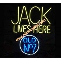 Jack Live Here  Neon Sign