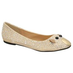 BE IN TOUCH MICE-1A Women's Ballet Flat With Rhinestone Embellished, Color:GOLD, Size:10 BE INTOUCH,http://www.amazon.com/dp/B00HFHHJAU/ref=cm_sw_r_pi_dp_Gpeptb0ZFDT11SSY