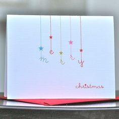 Totally going to make cards like this! What a pretty idea.