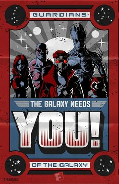 Guardians of the Galaxy recruitment propaganda.
