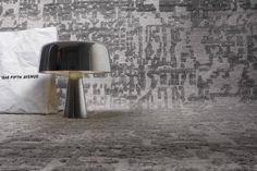 Basel - Handknotted rug in wool and viscose