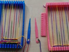 This is a 3D printable weaving loom I made for my kids. They like it and your kids will like it too. All you need is this loom and some wool to get started.    Have fun.