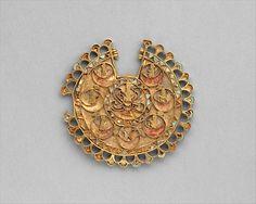 Earring, Period: Achaemenid Date: ca. 6th–4th century B.C. Geography: Iran