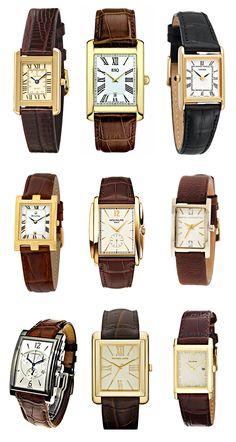 Tank Style Watches http://www.lovemaegan.com/2012/03/timeless-timepiece-cartier-tank-watch.html#
