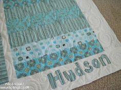 Piece N Quilt: Baby Boy Quilts