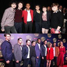 The cast of at It Movie Cast, Movie Tv, It Cast, Bill Harder, Finn Stranger Things, Pennywise The Clown, Thank You Friend, Bill Skarsgard, I'm Still Here