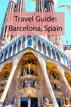 Travel Guide: Barcelona, Spain. SUCH a good guide!!| Espresolifestyle.com