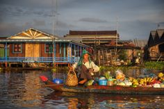 Local Cambodian Seller In Floating Market by Rawpixel. Local Cambodian seller in floating market. Bangkok Travel, Thailand Travel, Laos, Romantic Honeymoon Destinations, Holiday Destinations, Honeymoon Ideas, Last Minute Getaways, Vietnam, China Southern Airlines