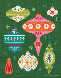 Ornament Illustration on Behance // Clairice Gifford