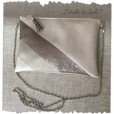 Denim Tote Bags, Diy Tote Bag, Pink Tote Bags, Leather Clutch Bags, Leather Purses, Leather Totes, Leather Bag Tutorial, Leather Wallet Pattern, Diy Sac Pochette