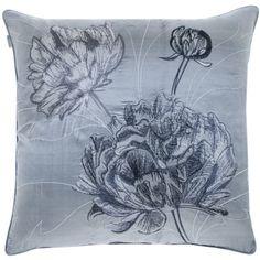 PENTIK - Pioni Brodeerattu Silkkityynynpäällinen - Tyynyt ja torkkupeitot - Tekstiilit Drawstring Backpack, Backpacks, Pillows, Bags, Handbags, Drawstring Backpack Tutorial, Taschen, Throw Pillow, Cushions